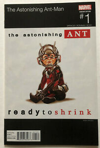 The Astonishing Ant-Man 1 Hip Hop Variant Ready to Shrink NM Near Mint