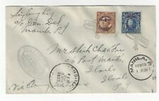 1927 Manila Philippine Islands Airmail, US Army Air Service FFC Manila-Iloilo