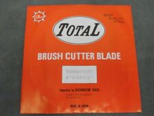 """Total brush cutter trimmer blade TB088001HD 8"""" 80 tooth 1"""" arbor 1.8mm steel"""