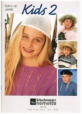 RARE, SCHACHENMAYR NOMOTTA Kids 2, 4-10 Ans, Heft 951, Tricot, 43 motifs
