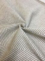 MARK & SPENCER / NEXT NATURAL CHENILLE UPHOLSTERY FABRIC 2 METRES