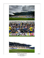 LARGE CENTENARY LIMITED EDITION PRINT PHOTO LEEDS UNITED ELLAND ROAD STADIUM