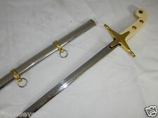 New Marine Dress Saber  Sword & Scabbard [Sword/Machete/Dagger/Weapon/Knife] A54