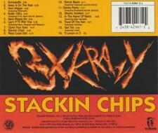 3X Krazy: Stackin Chips MUSIC AUDIO CD Noo Trybe Gangsta, Hardcore, R&B Album 97