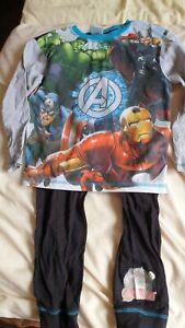 Marvels Avengers Pyjamas Age 7-8