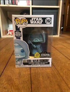 Funko POP! Obi-Wan Kenobi #392 - Star Wars Glow In The Dark Vinyl 3000 units WW