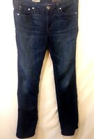 Adriano Goldschmied Dark Blue Rinse The Ballad Slim Boot Cut Jeans Size 30R