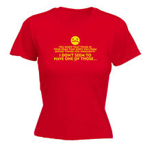 Funny Novelty Tops T-Shirt Womens tee TShirt - You Know That Thing In Your Head