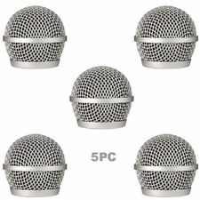 5 PCS Ball Head Mesh Mic Grille Fits For shure PG48/PG58 microphone