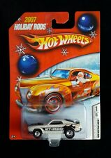 Hot Wheels 2007 Holiday Rods *Ford Mustang Mach 1 *White #2