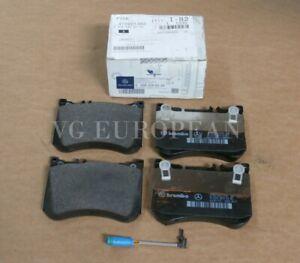 NEW Mercedes-Benz W222 S550 Maybach GENUINE Front Brake Pad Set + SENSOR !!!!