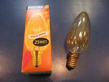 PHILIPS Ampoule bougie 25W E14 Ampoule bougie or déco geluestert