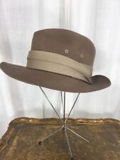 Vintage 1980's Brown Wool Men's Hat