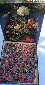 Vtg 1972 Springbok Jigsaw Puzzle 500 Pcs Vase of Flowers Hallmark Still Life Art