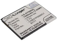 3.7 V Batteria per Alcatel BY71, TB-4T0058200, CAB31P0000C1, CAB31P0001C1, OT-903D