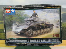 TAMIYA. Panzerkampfwagen 11 Ausf.A/B/C (Sd.Kfz.121. French Campaign 1:48. 32570