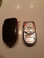 Vintage Sekonic Auto-Leader Model 38 Light Meter Excellent Condition Case