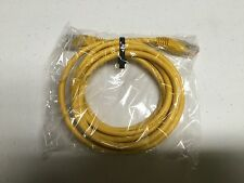 QTY LOT OF ONE (1) 6 FOOT YELLOW ETHERNET CABLE! NEW! INTERNET HOOKUP CABLE