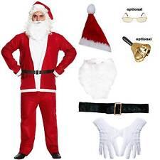 Weihnachtsmann Kostüm 6 oder 7 teilig Gr.M Nikolauskostüm Santa Claus Papa Noel