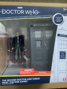 Doctor Who 2nd Doctor and Tardis From The War Games