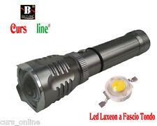 Torcia Luce Led Luxeon BL-901 ORIGINALE Nuova Batteria 18650 + 2 Caricabatterie