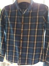 Tommy hilfiger checked shirt age 10 100% Cotton