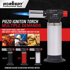 Refillable Butane Gas Blow Torch Soldering Welding Gun Burner Kitchen Lighter