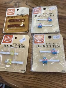 Goody Barrettes. Four packs eight total barrettes new retro vintage B5