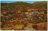 111510FP Birds Eye View Prescott AZ Arizona Vintage Postcard