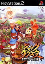 Used PS2 1st Print Black Label Jak and Daxter the Precusor Legacy Jack Japan