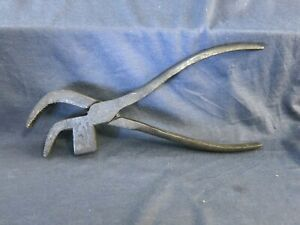 Antique Pliers Timmins & Sons No. 3 Hammer Pliers Shoemaker Tool Saddle Tool