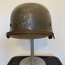 WW2 German Helmet. Double Decal.