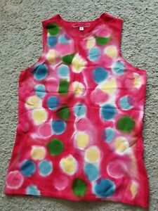 NEW Marika Charles Multicolor Top SIZE L NEW