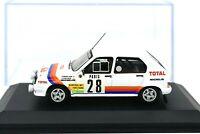 Coche Auto Citroen Visa 1000 Pistas 28 Escala 1/43 diecast IXO Rally Rallye
