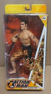 "Action Man Blow Pipe 1/6 Scale 12"" Action Figure New HASBRO 2007"