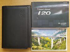 GENUINE HYUNDAI i20 2008-2012 OWNERS MANUAL HANDBOOK WALLET AUDIO PACK C-156