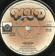 MUD - LEAN ON ME / GREACIAN LAMENT  -ORIGINAL 70s GLAM POP ROCK'N'ROLL REVIVAL