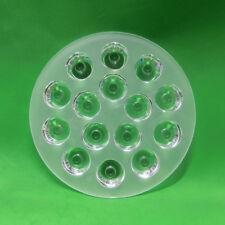 30 degree PMMA Lens for 15W 45W LED Lamp Light Ceiling Spotlight Bulb 110mm