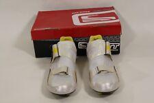 Scott Tri Carbon Mens Triathlon Bike Shoes White/Yel Eu 45 or US 11