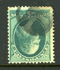 US Stamp 184 Bank Note Padlock Fancy Cancel 8H20 34