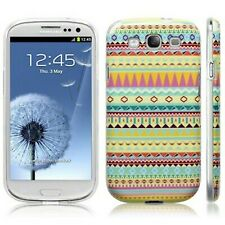 Patterned Aztec 2 Silicone Slim TPU Gel Back Case Cover For Samsung Galaxy S3