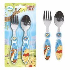 Besteck-Set | Disney Winnie Puuh | 2-teilig | Gabel und Löffel für Kinder