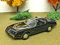 Smokey and the Bandit #2 Limited edition die-cast bandit's 1:64 1980 Pontiac