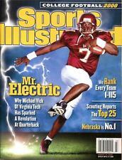 Virginia Tech Hokies Sports Illustrated Michael Vick 2000 No Label Mr.Electric