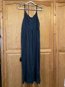 H&M Green Slip Maxi Dress Size L