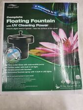 TotalPond floating fountain with UV cleaning power MF750UV - Used / Like New
