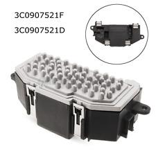 Heater Blower Fan Resistor Speed Control 3C0907521F 3C0907521D For VW Audi  /