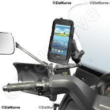 Piaggio MP3 Samsung Galaxy S4 wetterfestes Hardcase mit Halterung RAM-B-346