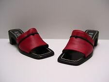 Luc Berjen Womens Shoes Sz 4 - 4.5 US EUR 35 Heels Dress Casual Slipons Paris