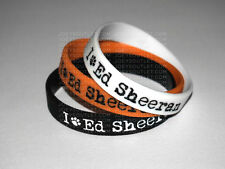 3 I Heart Ed Sheeran Bracelet Wristband THIN